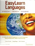 img - for Easylearn Languages - Spanish French German w/ CD's book / textbook / text book