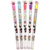 Disney Tsum Tsum Smencils Set - 5-Pack of Scented Pencils Made from Recycled Newspapers