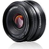 Lightdow 35mm F1.7-22 E-Mount APS-C Fixed Prime Lens Sony Alpha a6000 a6300 a6500 a5100 a5000 Mirrorless Digitial SLR Camera