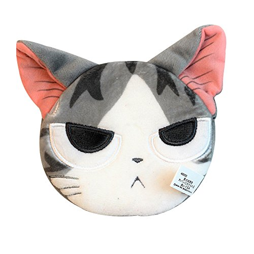 TOMORI Anime Coin Purse Chis Cat Plush Wallet Animal Stuffed Cash Card Pouch Keys holder (Despise Cat)