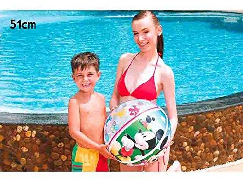 C&C Mickey Mouse Mickey Pelota Gigante 51 cm Playa Juegos de ...