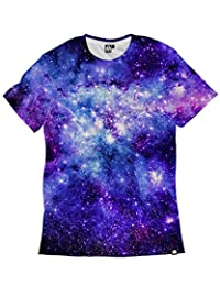 INTO THE AM Stardust Premium Men's All Over Print Tee (Large)