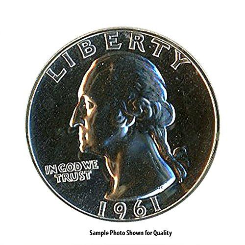 1961 Washington Quarter Proof - 1961 Washington Silver Quarter 25c Proof