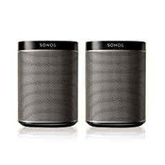 The 2 Room Starter Set is the perfect way to start your Sonos system. Experience the magic of Sonos by filling two rooms of music with two PLAY:1s. The 2 Room Starter Set includes 2 PLAY:1 speakers - a compact wireless speaker that delivers d...