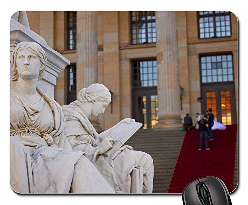 - Mouse Pad - Schiller Monument Concert House Berlin Germany