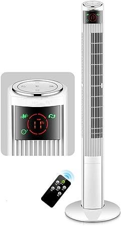 CYLQ Ventiladores De Torre Oscilante 45W, Aire Acondicionado ...