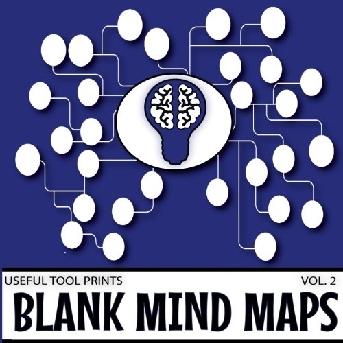 """Download Useful Tool Prints Blank Mind Maps: Mind Map Book 50 Pages 8.5""""x8.5"""" Glossy Cover (Volume 2) ebook"""
