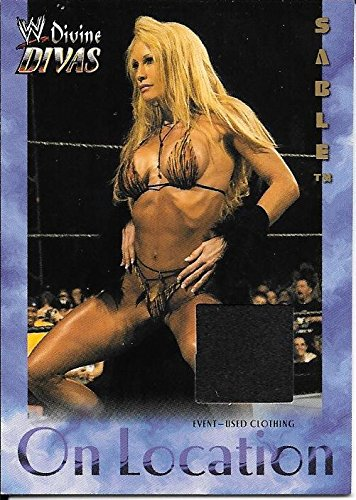 2003 Fleer WWE Divine Divas On Location Sable Event Used Clothing Relic Card by WWE