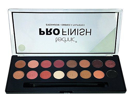 Technic Pro Finish 16 Colour Eyeshadow Palette-Toffee Edition (Eye Shadow Toffee)