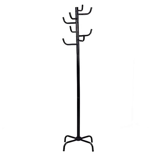 Tangkula - Perchero de Metal, Color Negro: Amazon.es ...