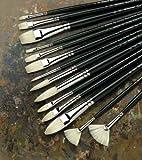 Winsor & Newton Winton Hog Bristle Brush-Filbert #10