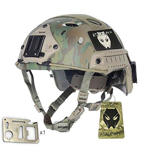 Ejército estilo militar SWAT combate PJ tipo Casco Fast saturación (L/XL) MC para tiro CQB táctico para Paintball WorldShopping4U