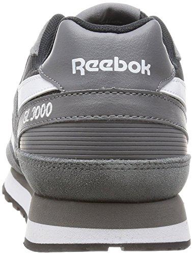 Eu Gl 39 Homme Sneakers White Reebok 3000 Shark Ar1100 Basses black U0TKa