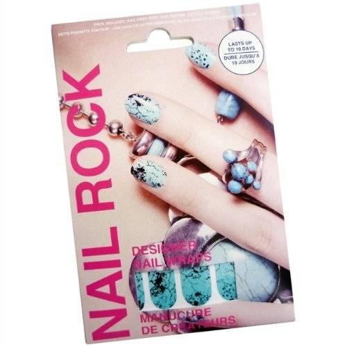 Nail Rock Nail Wraps - Jade Quail