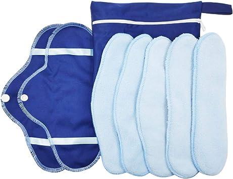 Toyvian Baby Stoffwindel Babywindeln Einlagen Waschbar Wiederverwendbare Damenbinden Pads 25 St/ücke