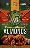 Magic Bavarian Nuts Snacks - Cinnamon Roasted Almonds - Healthy Snacks to Satisfy Your Hunger and Increase Your Energy - Roasted Nuts Made in the USA - Vegan, Gluten-Free (10 Ounces)
