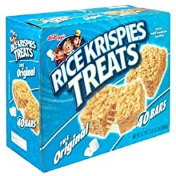 Kellogg\'s Rice Krispies Treats - Original - 31.20 Ounces - 40 Count