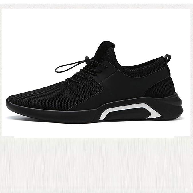 Zapatillas Running Hombre Deporte Unisex Adulto, Zapatos De Cordones para Hombre Aire Libre Y Deporte Transpirables Casual Lace Up Zapatos Gimnasio Correr Sneakers: Amazon.es: Zapatos y complementos