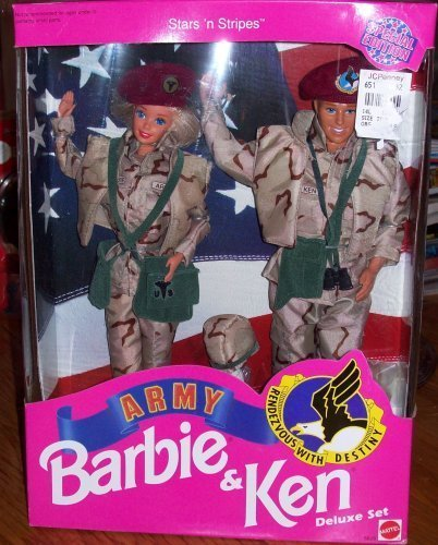 Barbie Star 'N Stripes ARMY Ken Deluxe (Barbie Stars N Stripes)