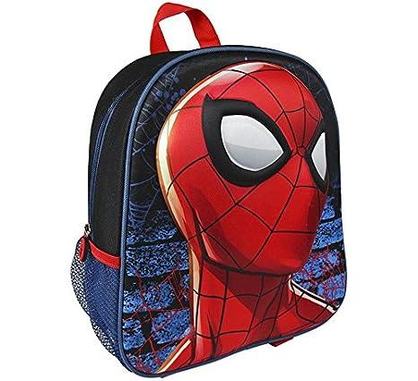 Spider-Man Mochila 3D Spiderman 25X31X10 CM: Amazon.es: Juguetes y juegos