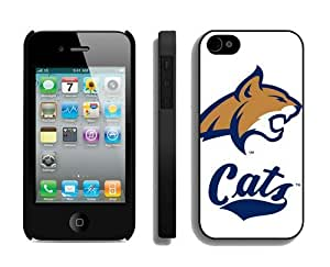 New Cell Phone Cases for Iphone 4s Iphone 4 Cover Mobile Accessories Ncaa Montana State Bobcats 1