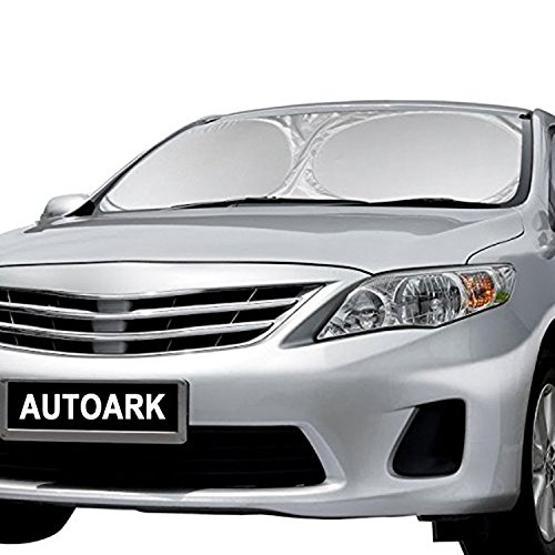 Autoark AK-U18 Black Foldable Multi Compartment Fabric Car Truck Van SUV Storage Basket Trunk Organizer and Cooler Set