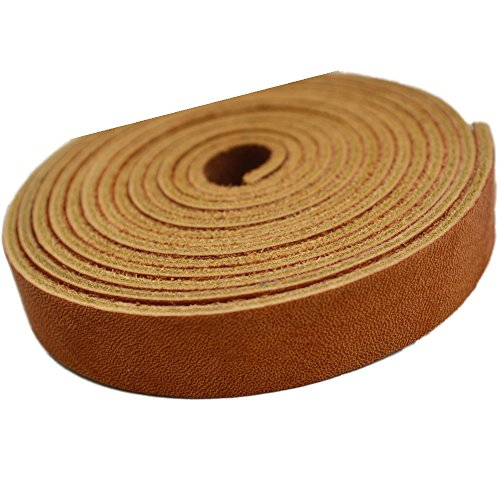 Leather Straps by TOFL Crafts Accenting Binding Leather Strips You Can Use. 4 oz. 1/6