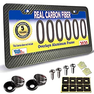 Carbon-Fiber-License-Plate-Frame-