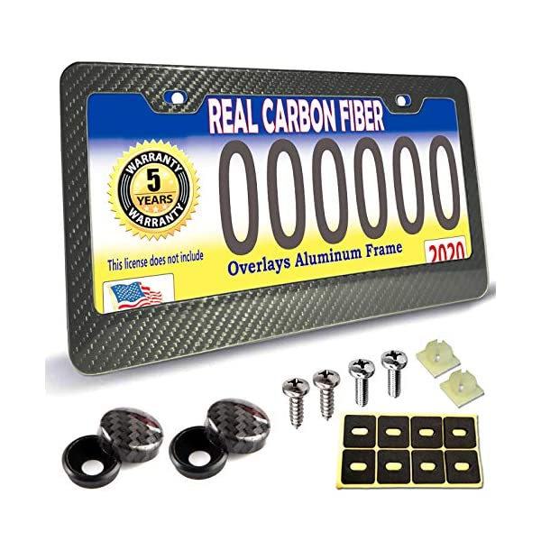 Carbon-Fiber-License-Plate-Frame-