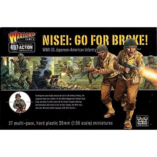Bolt Action USA Nisei: Go For Broke! (27) by Warlord - Broke Usa