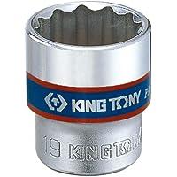 Soquete Estriado 14Mm - 3/8, Kingtony Br, 333014M