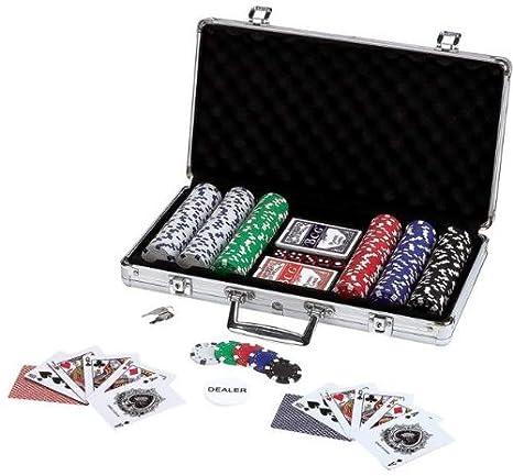 Maxam 309Pc Poker Chip Set en caja de aluminio - Maxam 309Pc Poker ...