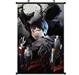 Relaxcos Demi-human Ajin Logo Wall Scroll Poster Painting Picture