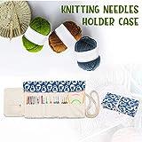 Teamoy Knitting Needles Holder Case