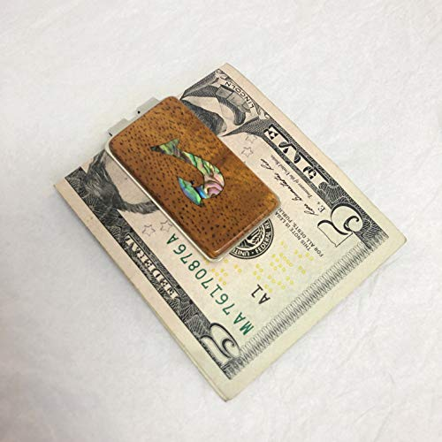 (Inlay Koa Money Clip Fish Hook)