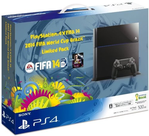 プレイステーション4本体×FIFA 14 2014 FIFA World Cup Brazil Limited Pack