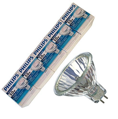 Philips Essential Halogen MR16 Bulbs 50W
