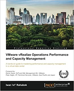 VMware vRealize Operations Performance and Capacity
