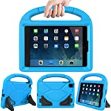Lmaytech Kids case for iPad Mini 4 5 - Light Weight Shockproof Super Protection Portable Handle Friendly Convertible Stand Kids Case for iPad Mini 4, iPad Mini 5(2019 5th Generation), Blue