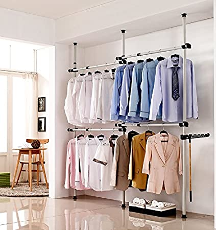 Amazon Com Estink Garment Rack Portable Indoor Garment Hanger