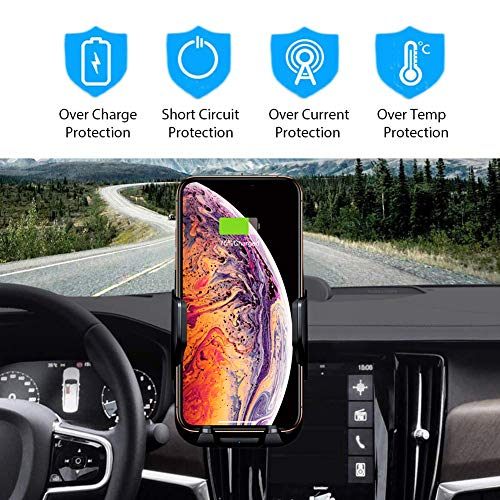 Wireless Charger Holder Universally Adjustable Car Phone Mount Merfinova Phone Cup Holder Car Charger