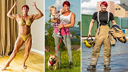 (Bodybuilding Mother-of-four Juggles Family And Firefighting)