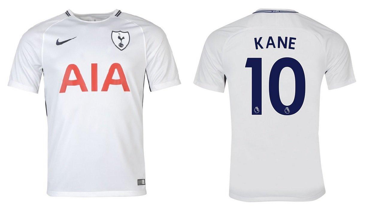 Trikot Kinder Tottenham Hotspurs 2017-2018 Home - Kane 10