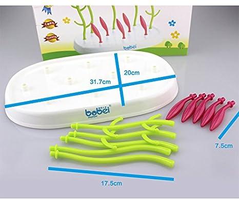 Amazon.com: Gaodear – Botella de secado para bebé, plato de ...