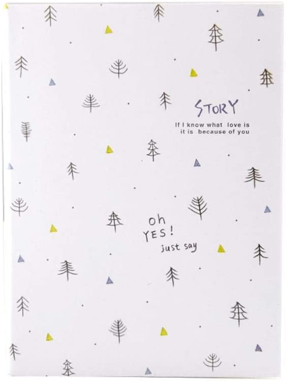 Freedi Colorful Notebook Journal Memo Field Note Book for Writing for School Office 96 Sheets