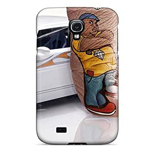Awesome Wanna Ride Flip Case With Fashion Design For Galaxy S4