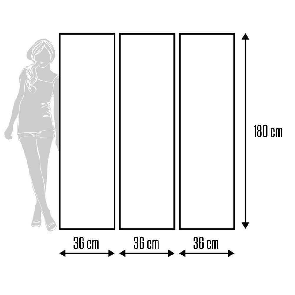Feeby Frames Paravent Int/érieur Cloison de s/éparation Paravent d/éco 110x150 cm 3 Panneaux Paravent Toile Paravent 1 Face