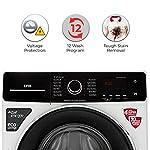 IFB 6.5 Kg 5 Star Fully-Automatic Front Loading Washing Machine (SENORITA ZX, White, Wi-fi & Voice Enabled,Dual tone…
