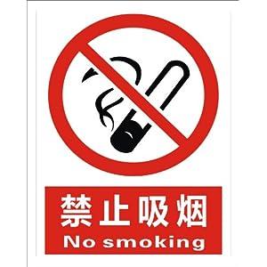 禁止吸烟标志牌_子途 禁止吸烟 消防验厂 安全标识牌 安全警示标志 中英文安全 ...