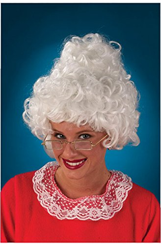 Fun World Womens Mrs. Claus Wig